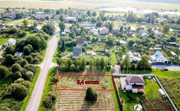 Земельный участок в деревне Курьяново (Газ по границе!)